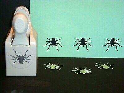 Martha Stewart HALLOWEEN SPIDER Large Paper Punch Card Craft Scrapbook - Nice!
