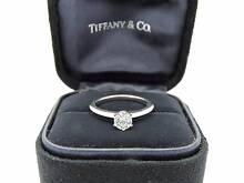 $7K+ Tiffany & Co Ideal Cut Diamond & Platinum Engagement Ring Melbourne CBD Melbourne City Preview