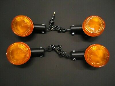<em>YAMAHA</em> SET OF 4 INDICATORS RD250LC RD350LC RD350 YPVS 31K  BLINKERS W