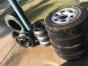 Hilux tyres /rims Gunn Palmerston Area Preview