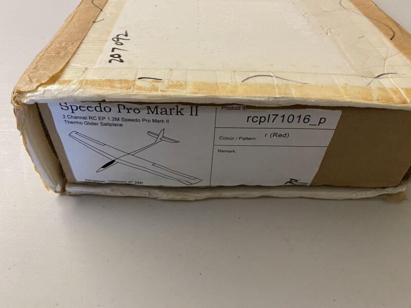 "Vintage 2 Ch Speedo Pro Mark II EP R/C Sailplane / Glider Kit - 47.24"" Wingspan"