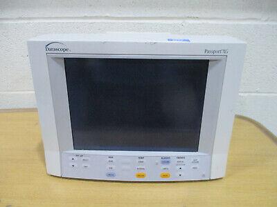 Datascope Passport Xg Patient Monitor - No Power Supply