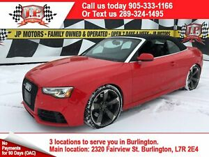 2014 Audi RS 5 4.2, Automatic, Navigation, Leather, Convertible