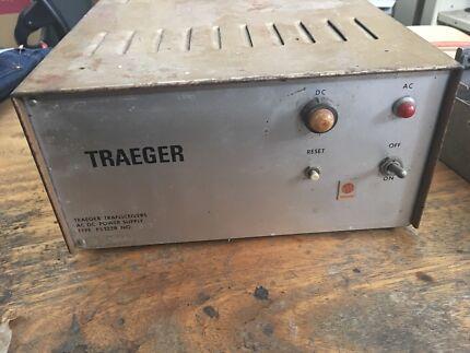 Traeger heavy duty HF/UHF radio power supply