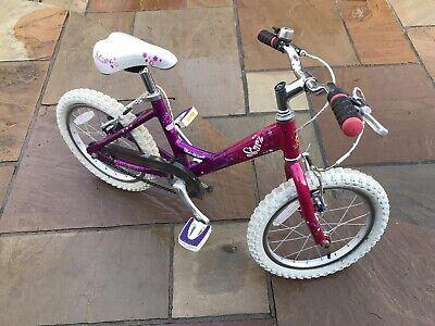 Raleigh Starz 16 inch girls bike (16 inch wheels). Kids Bike Great condition.