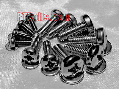 Universal TV Screws - All 3 VESA Sizes – Wall mount to TV – 8mm, 6mm & 4mm - M8 (Tv Sizes)