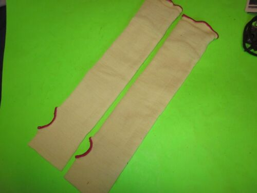 Pair of New/Old Stock Welding Sleeves