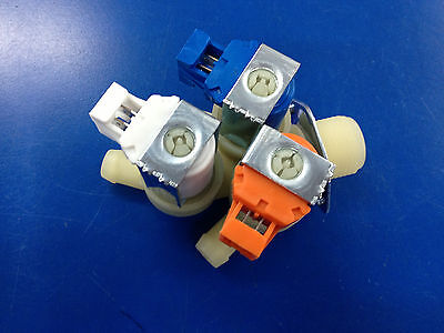 Brand New 3-way Water Valve 120v For Wascomat Washer 823654 Free Shipping
