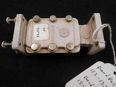 Wr75 Transmit Reject Filter Waveguide Ku Band Vsat
