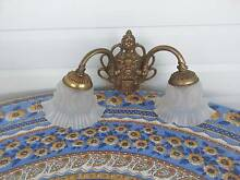 Vintage/Period Brass Wall Light/Sconce Shabby Chic Warwick Southern Downs Preview