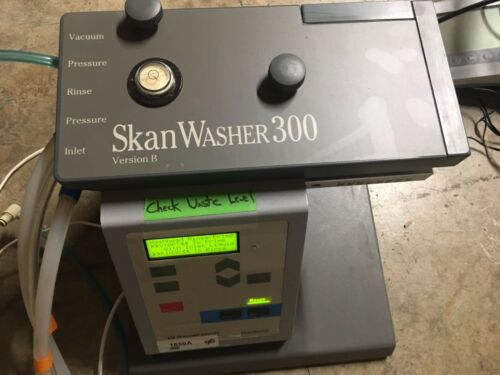 Skatron Skan Washer 300 Version B Microplate Washer Working condition