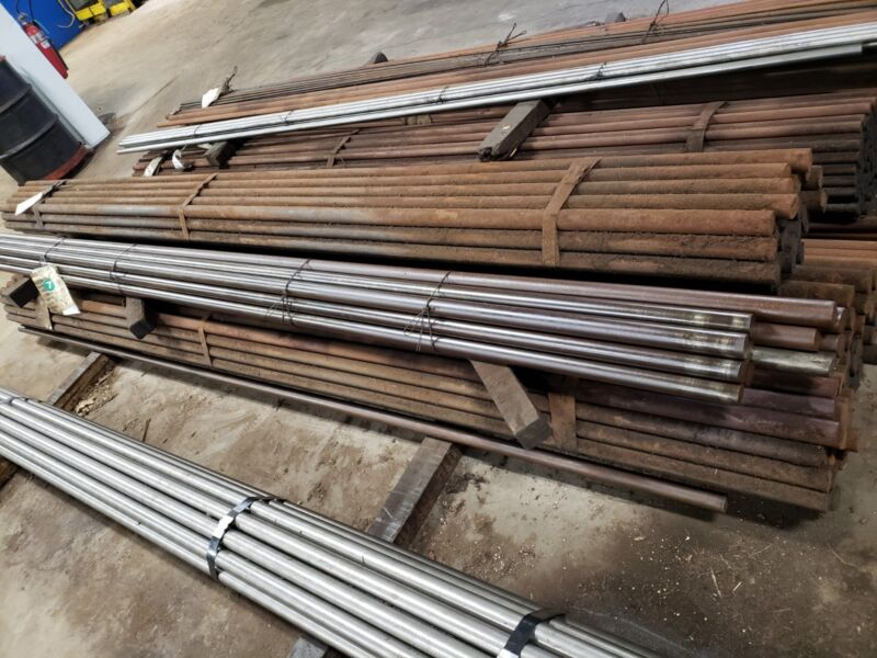 "4140 Steel, Annealed Round Bar Stock,1.750"" diameter x 12 feet long"