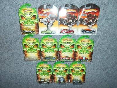 11 HOT WHEELS 2007 2008 FRIGHT SERIES MOC DIE-CAST CARS LOT