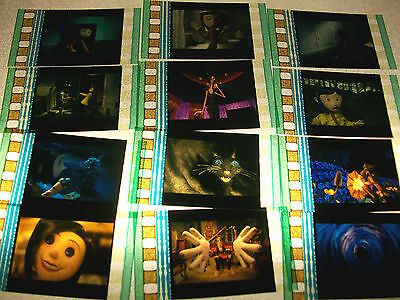 CORALINE Film Cell Lot of 12 - collectible compliments movie dvd poster ()