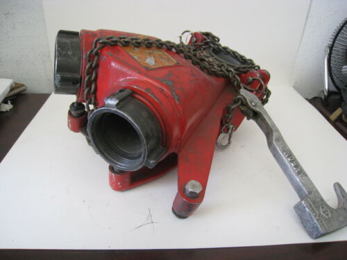 Akron Brass Dual Inlet Apollo Deck Gun Firefighting Deluge Water Canon 3421/3423