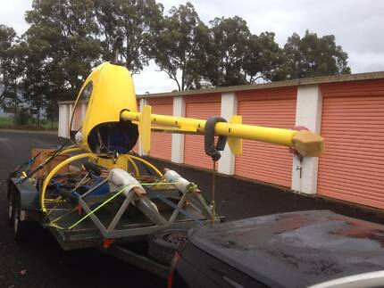 Single seat ultralight helicopter