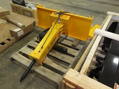 New Emaq Thh300b Hydraulic Skid Steer Hammer Cat Bobcat New Holland Gehl