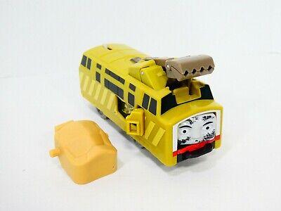 Thomas Diesel 10 Crash and Repair Train Trackmaster Flip Face Motorized Mattel