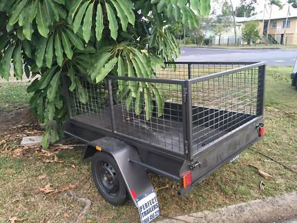 Trailer 6x4 with cage Westcourt Cairns City Preview