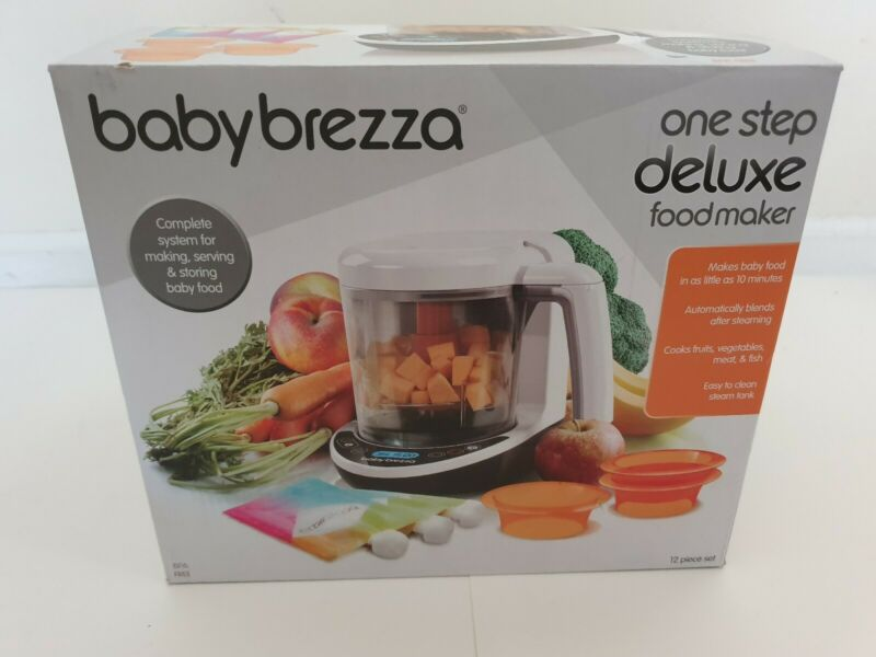 Baby Brezza One Step Deluxe Baby Food Maker, Steams & Blends