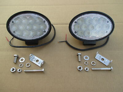 2 Led Floodlights For John Deere Jd 4710 4720 4730 4830 4895 Windrower 4920 4930