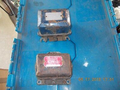 USED FLATHEAD FORD VOLTAGE REGULATORS (2)