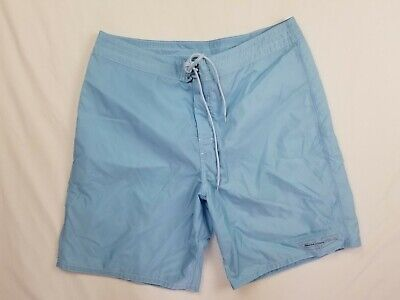 Nautica Competition Blue Swim Trunks Size 36
