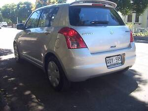 SUZUKI SWIFT 92000KMS SILVER LOVELY CAR College Park Norwood Area Preview