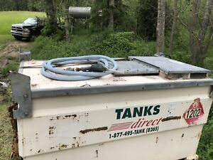 fuel tank for work site