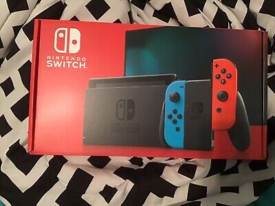 Nintendo Switch 32GB Console with Neon Blue and Neon Red Joy‑Con