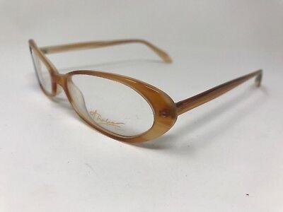 Thalia Eyewear Luna Eyeglasses 51-16-140 Kenmark Orange (Luna Eyewear)