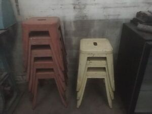 Retro style stools Fitzroy Yarra Area Preview