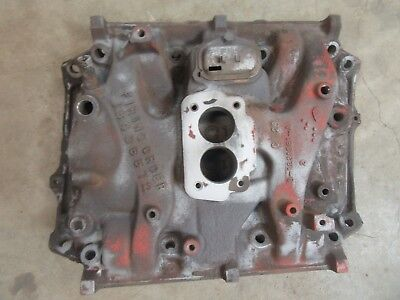 1970 Buick Skylark Engine (1970 Buick Skylark 350 engine motor 2 barrel intake manifold cast iron)
