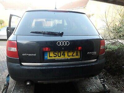 Audi Allroad A6 C5 25 V6 Tdi Quattro Breaking All Parts 2004 LZ9W paint black