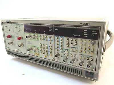 Tektronix Tm5006 Mainframe - Option 10 - W 2 X Dp501 Dc5010 Fg5010