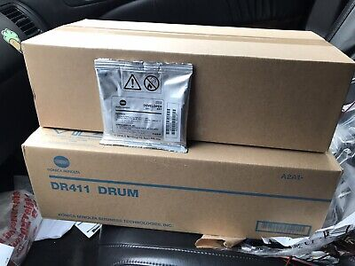 Bizhum Drum  Developer And Developer Unit Lot For Bizhub 423363223 Oem