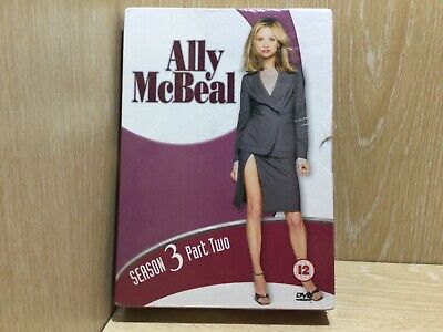 Ally McBeal Season 3 Part Two DVD New & Sealed