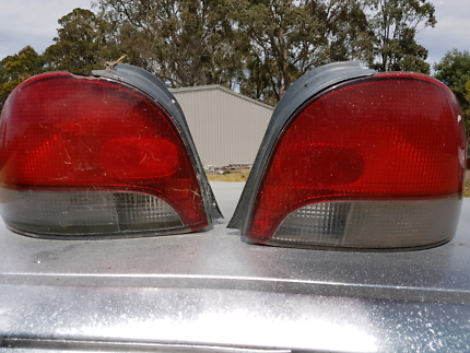 Hyundai excel tail lights