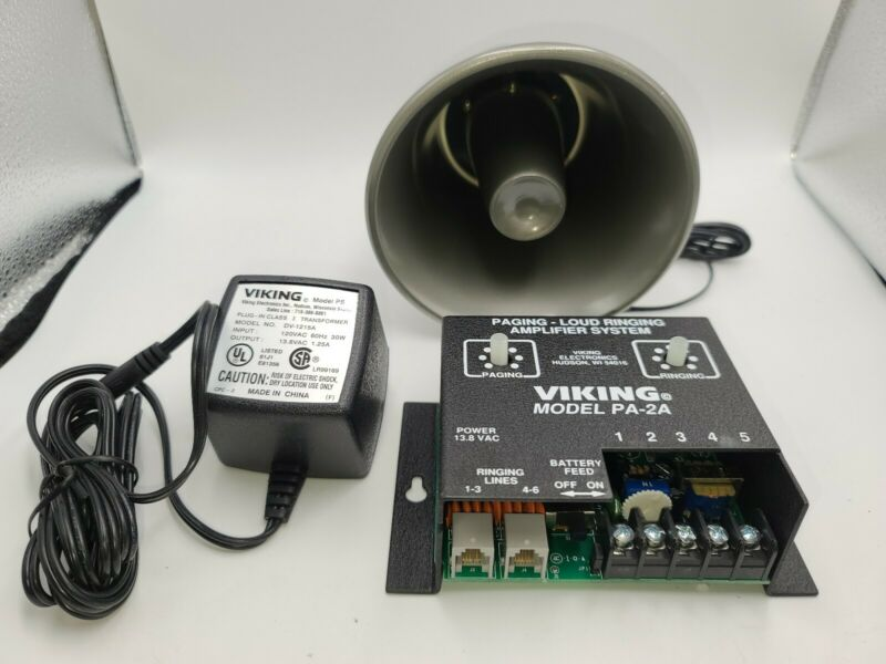 Viking Electronics VK-PA-2A Paging/Loud Ringing Amplifier System
