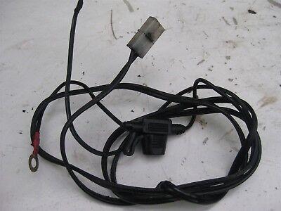 OXFORD MOTORCYCLE HEATED HANDLEBAR GRIP BATTERY WIRING LOOM CONNECTORS & FUSE