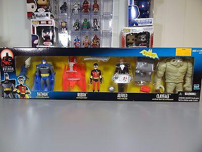 - Batman Animated Series 4 Pack Batman , Robin , Alfred & Clayface