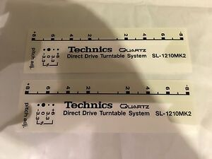 Technics Sl1200 / 1210 Custom Deck Decals - Pimp - Mod