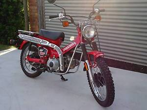 HONDA CT110 AG BIKE, 8 SPEED - AS NEW Maryborough Fraser Coast Preview