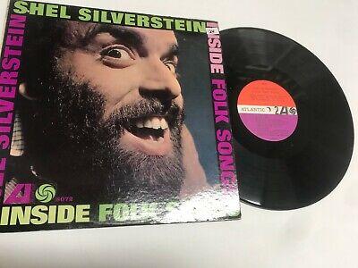 Shell Silverstien Inside Folk Songs Rock Record lp original Vinyl album Inside Folk Songs