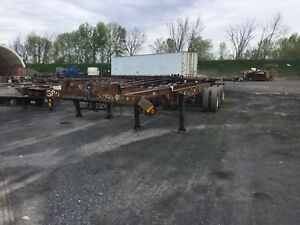 2001 HENRI 40G3 INTERMODAL CHASSIS ONLY