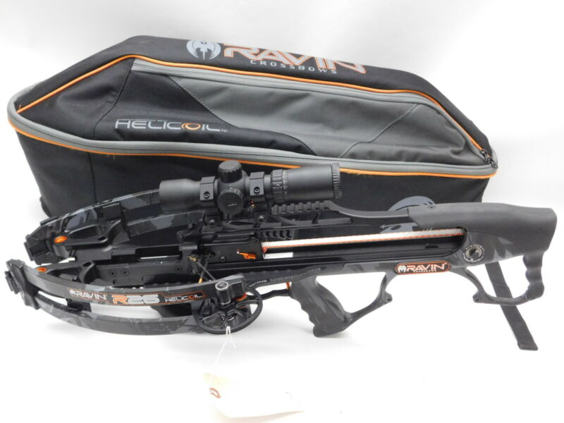 Ravin R26 Crossbow With Case. No Draw Crank Handle