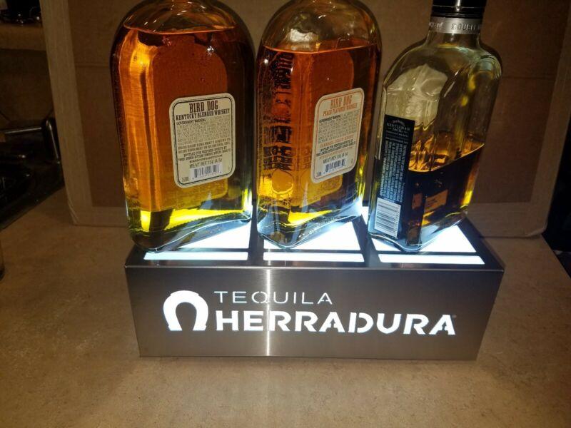 Herradura Tequila LED 3 Bottle Glorifier Lighted Display (ULTRA,RARE)
