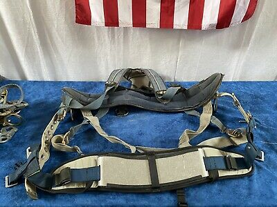 Dbi Sala Exofit Construction Rigging Harness Xl Blue Grey Wseat Accessory....