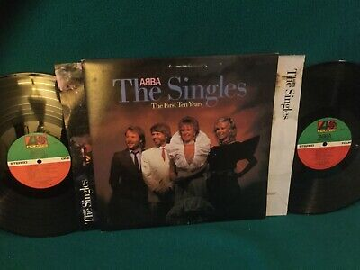 ABBA : The Singles The First Ten Years Vinyl N/M  LP