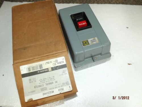 Square D By Schneider Electric 2510MCG21V02 Manual Motor Starter,NEMA, M-1